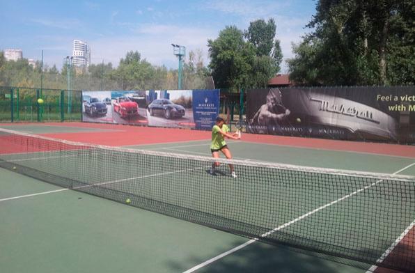Открытый корт теннисной академии в Европе, Германия