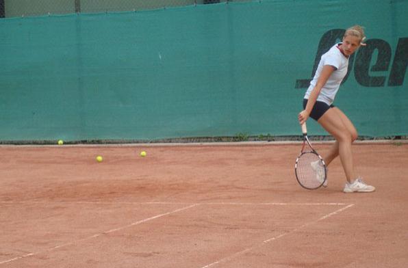 Теннисная академия, открытый грунтовый корт